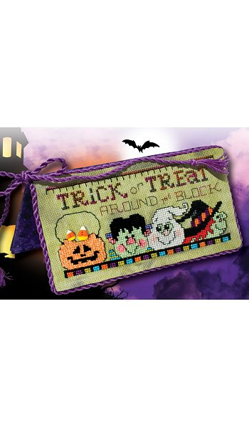 "August 2017 Pattern of the Month ""Trick or Treat"""