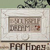 "March 2014 Pattern of the Month ""Be Yourself ~ Dream Big"" THUMBNAIL"