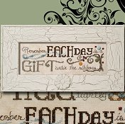 "April 2014 Pattern of the Month ""Each Day ~ Gift"""