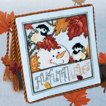 "December 2017 Pattern of the Month ""Autumn Leaves"""