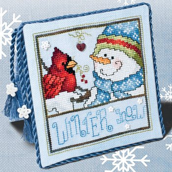 "January 2018 Pattern of the Month ""Winter Snow"""