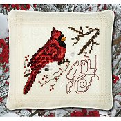 "February 2018 Pattern of the Month ""Joy Cardinal"" THUMBNAIL"
