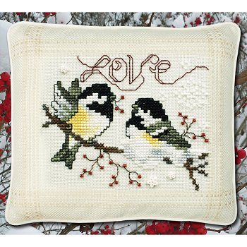 "March 2018 Pattern of the Month ""Love Chickadees"" MAIN"
