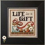 "November 2014 Pattern of the Month ""Life is a Gift"""