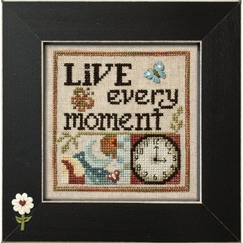 "December 2014 Pattern of the Month ""Live Every Moment"""