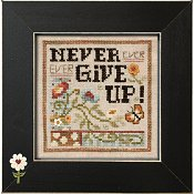 "April 2015 Pattern of the Month ""Never Give Up"""