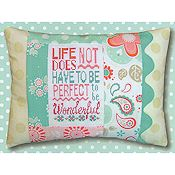 Pine Mountain Designs - Words of Wisdom - Wonderful Life THUMBNAIL