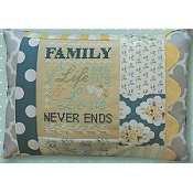 Pine Mountain Designs - Words of Wisdom - Family Where Life Begins & Love Never Ends THUMBNAIL