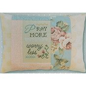Pine Mountain Designs - Words of Wisdom - Pray More Worry Less THUMBNAIL