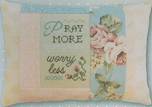 Pine Mountain Designs - Words of Wisdom - Pray More Worry Less MAIN