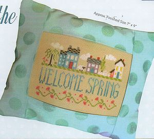 Pine Mountain Designs - Springtime in the Village MAIN
