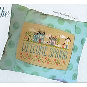 Pine Mountain Designs - Springtime in the Village THUMBNAIL