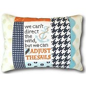 Pine Mountain Designs - Words of Wisdom - Adjust the Sails