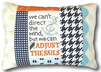 Pine Mountain Designs - Words of Wisdom - Adjust the Sails MAIN
