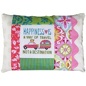 Pine Mountain Designs - Words of Wisdom - Happiness Is A Way Of Travel THUMBNAIL