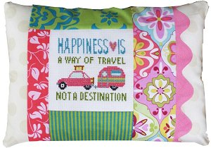 Pine Mountain Designs - Words of Wisdom - Happiness Is A Way Of Travel MAIN