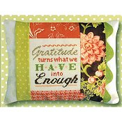 Pine Mountain Designs - Words of Wisdom - Gratitude Is Enough