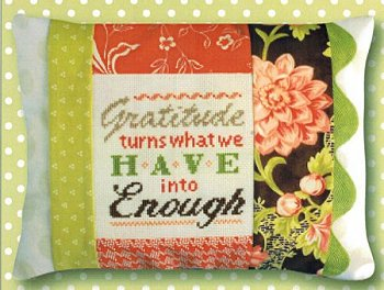 Pine Mountain Designs - Words of Wisdom - Gratitude Is Enough MAIN