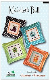 Pine Mountain Designs - Junior Stitch Kit - Monster's Ball MAIN