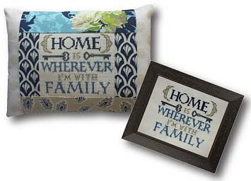 Pine Mountain Designs - Words of Wisdom - Where I'm with Family MAIN