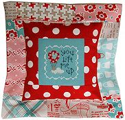 Pine Mountain Designs - Flange Pillow Sham - You Lift Me Up