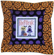 Pine Mountain Designs - Flange Pillow Sham Kit - October FangTastic