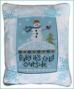 Pine Mountain Designs - Rectangle Pillow - January Baby It's Cold Outside