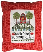 Pine Mountain Designs - Rectangle Pillow - September Welcome Autumn Days