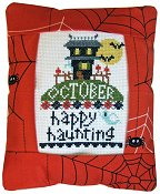Pine Mountain Designs - Rectangle Pillow - October Happy Haunting THUMBNAIL