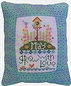 Pine Mountain Designs - Rectangle Pillow - May Grow With Love THUMBNAIL