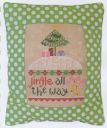 Pine Mountain Designs - Rectangle Pillow - December Jingle All The Way MAIN