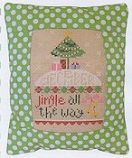 Pine Mountain Designs - Rectangle Pillow - December Jingle All The Way