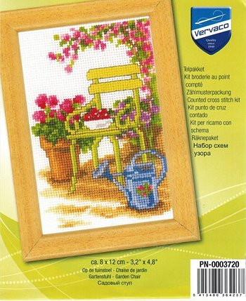 Vervaco Cross Stitch Kit - Flower Chair