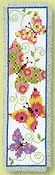 Vervaco Cross Stitch Kit - Butterflies Flapping I Bookmark Kit THUMBNAIL