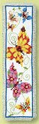 Vervaco Cross Stitch Kit - Butterflies Flapping II Bookmark Kit