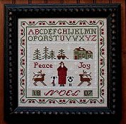 Primitive Needleworks - Noel Sampler