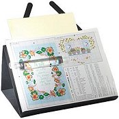 Prop-It Magnetic Chart Holder-Discontinued Sub w/ Prop-It w/ Magnifier