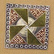 Puffin & Company Magnetic Needle Nanny - Pinwheel Quilt THUMBNAIL