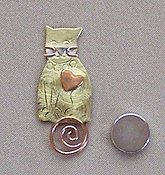Puffin & Company Magnetic Needle Nanny - Kitty THUMBNAIL