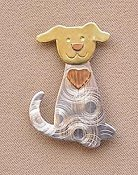 Puffin & Company Magnetic Needle Nanny - Puppy THUMBNAIL