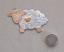 Puffin & Company Magnetic Needle Nanny - Sheep