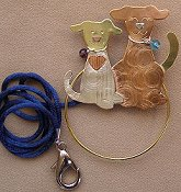 Puffin & Company Magnetic Scissor Sitter - Puppies THUMBNAIL