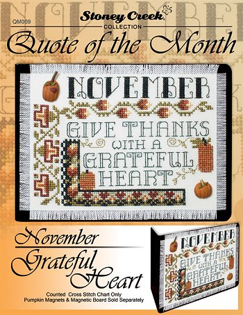 Quote of the Month - November (Grateful Heart) MAIN