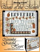 Quote of the Month - November (Grateful Heart)