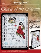 Quote of the Month - December (Have Goodwill) THUMBNAIL