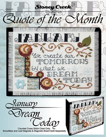 Quote of the Month - January (Dream Today) MAIN