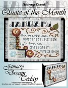 Quote of the Month - January (Dream Today) THUMBNAIL
