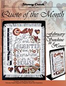 Quote of the Month - February (Sunshine in a House) THUMBNAIL