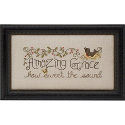Quick Stitches 010 Amazing Grace (chart w/charm) THUMBNAIL