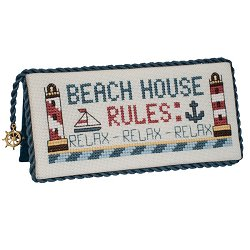 Quick Stitches 025 Beach House Rules THUMBNAIL